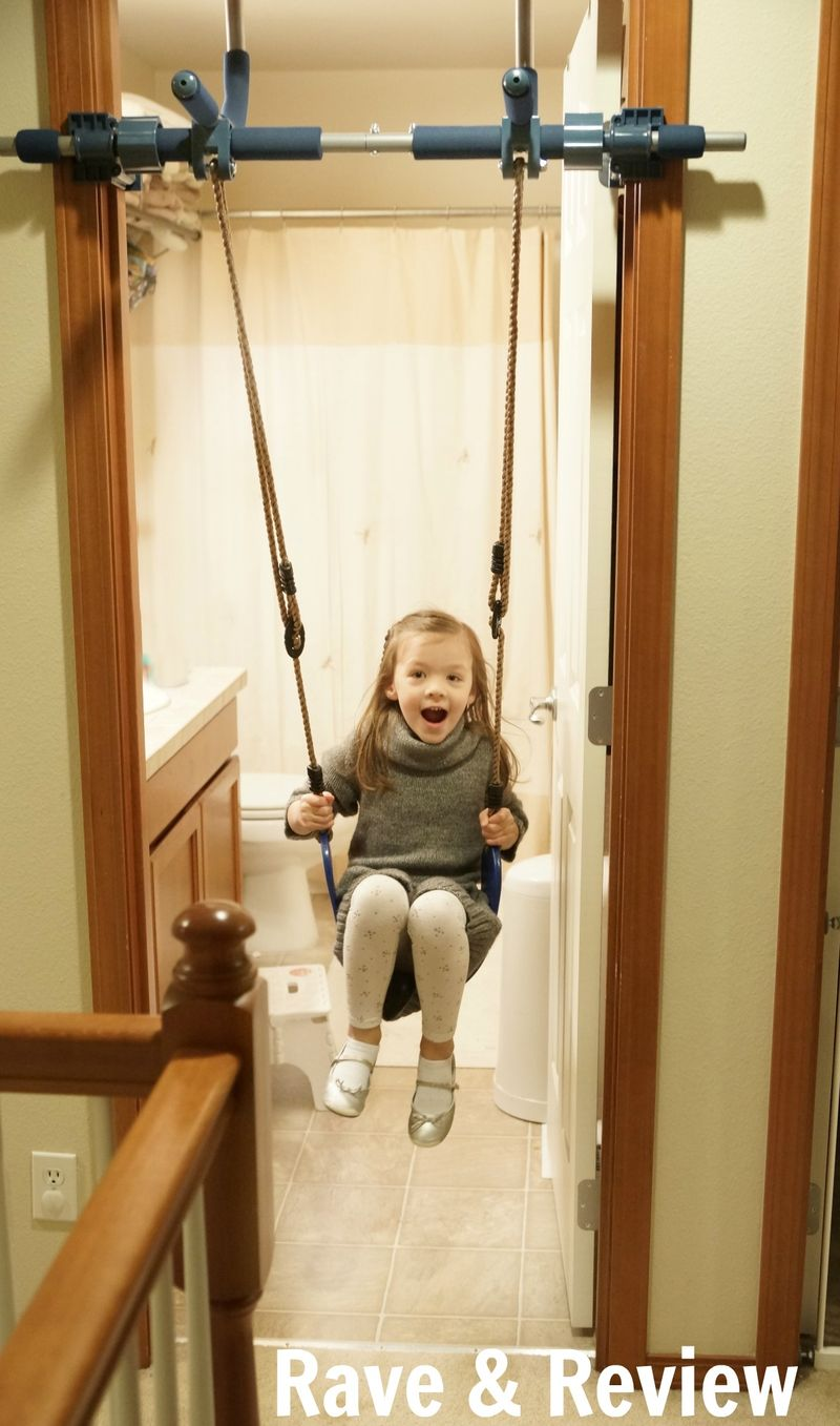 Swinging in Doorway