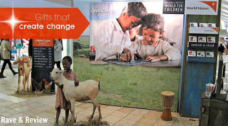 World Vision in mall