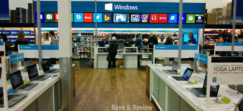 Windows store inside Best Buy