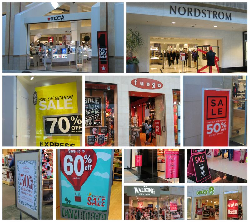 Sales at Northgate Mall