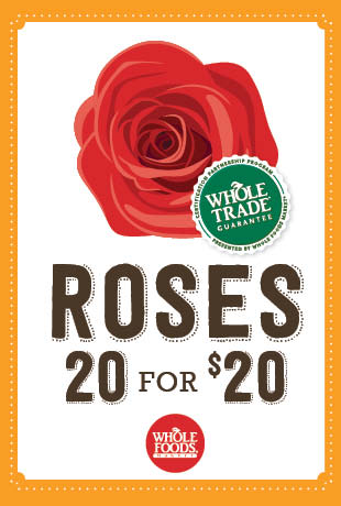 Whole Foods roses