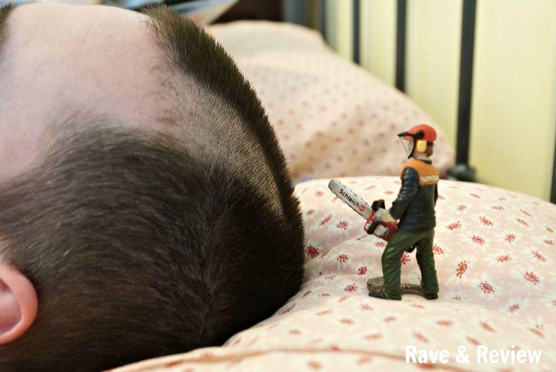 Schleich haircut