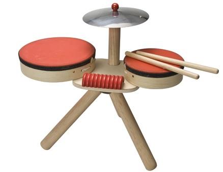 PlanToys drum set complete