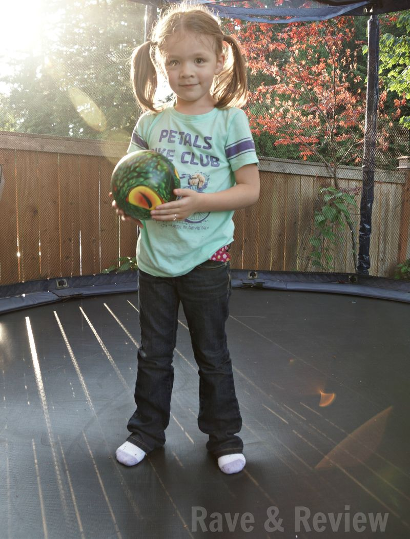 Ball on trampoline