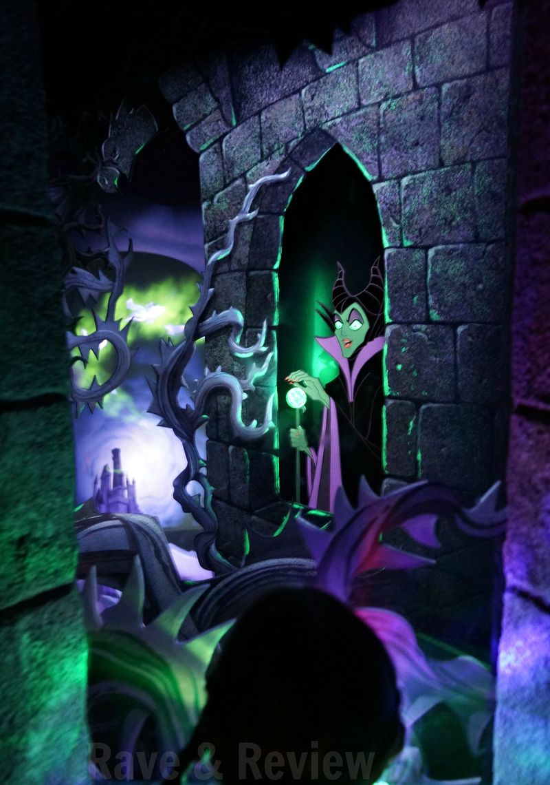 Maleficent in Disneyland