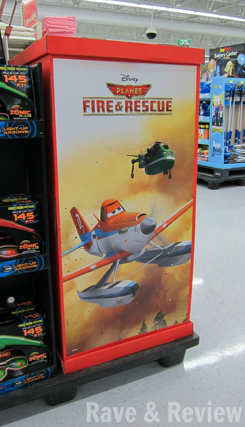 Planes Fire and Rescue at Walmart