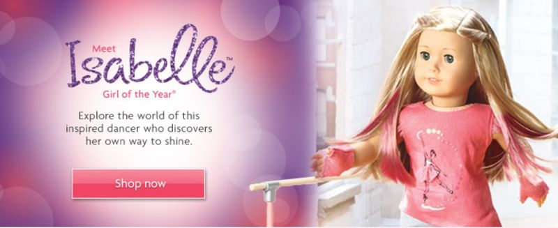 Isabelle Girl of The Year shop now