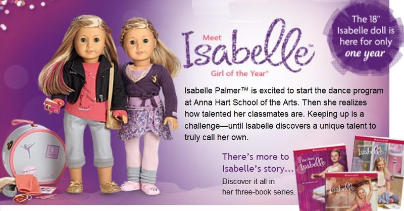 Isabelle Girl of The Year header