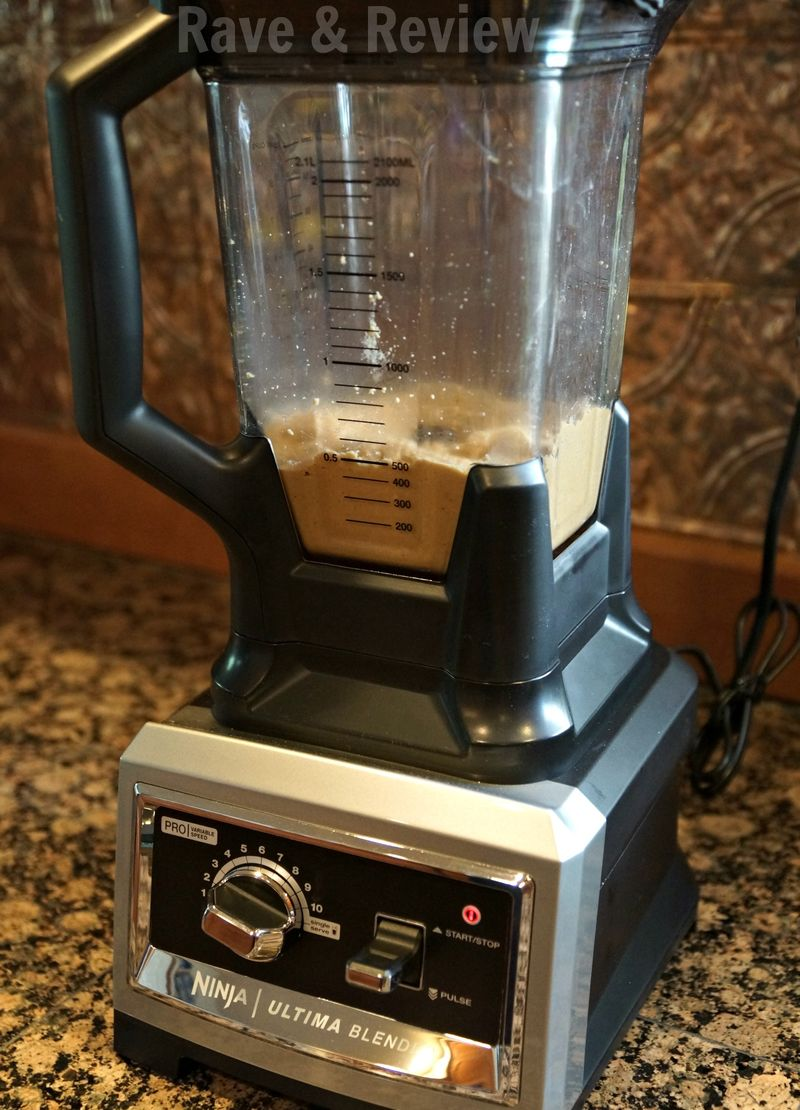 Ninja Ultima Blender peanut butter