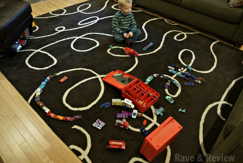 Cars in living room