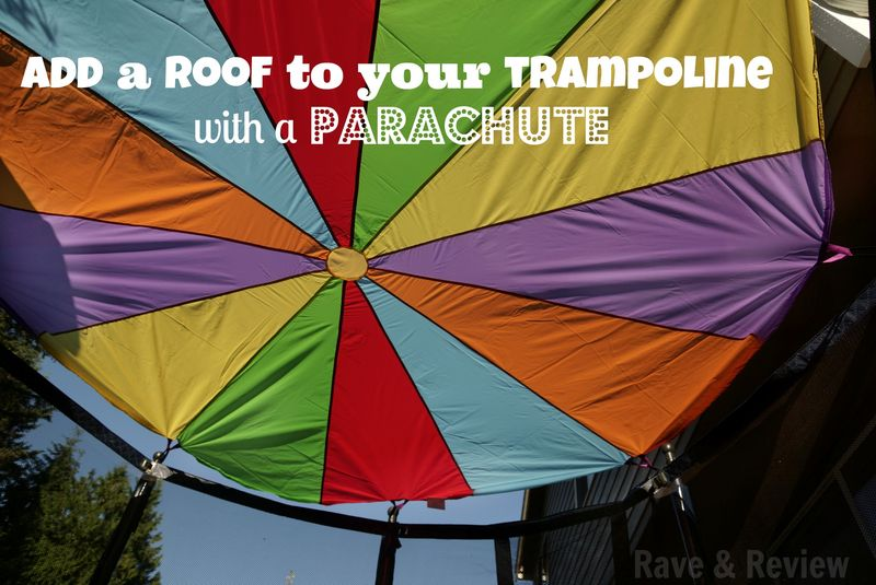 Add a roof to your trampoline