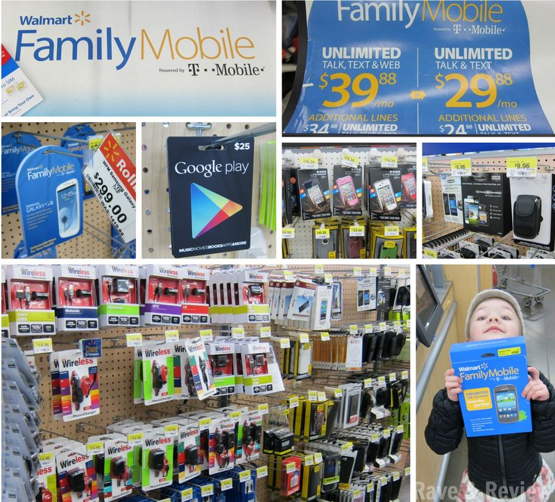 Walmart Family Mobile shop