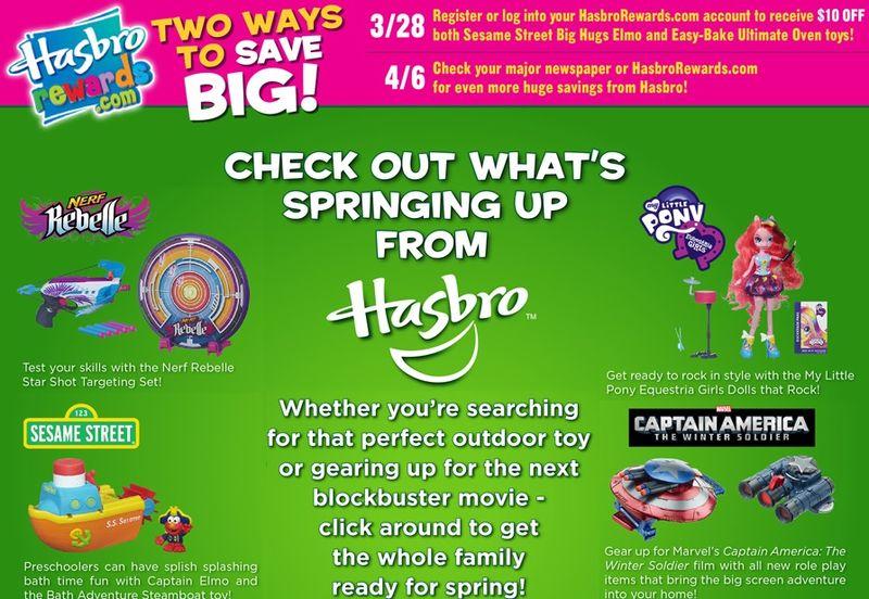 Hasbro March 2014