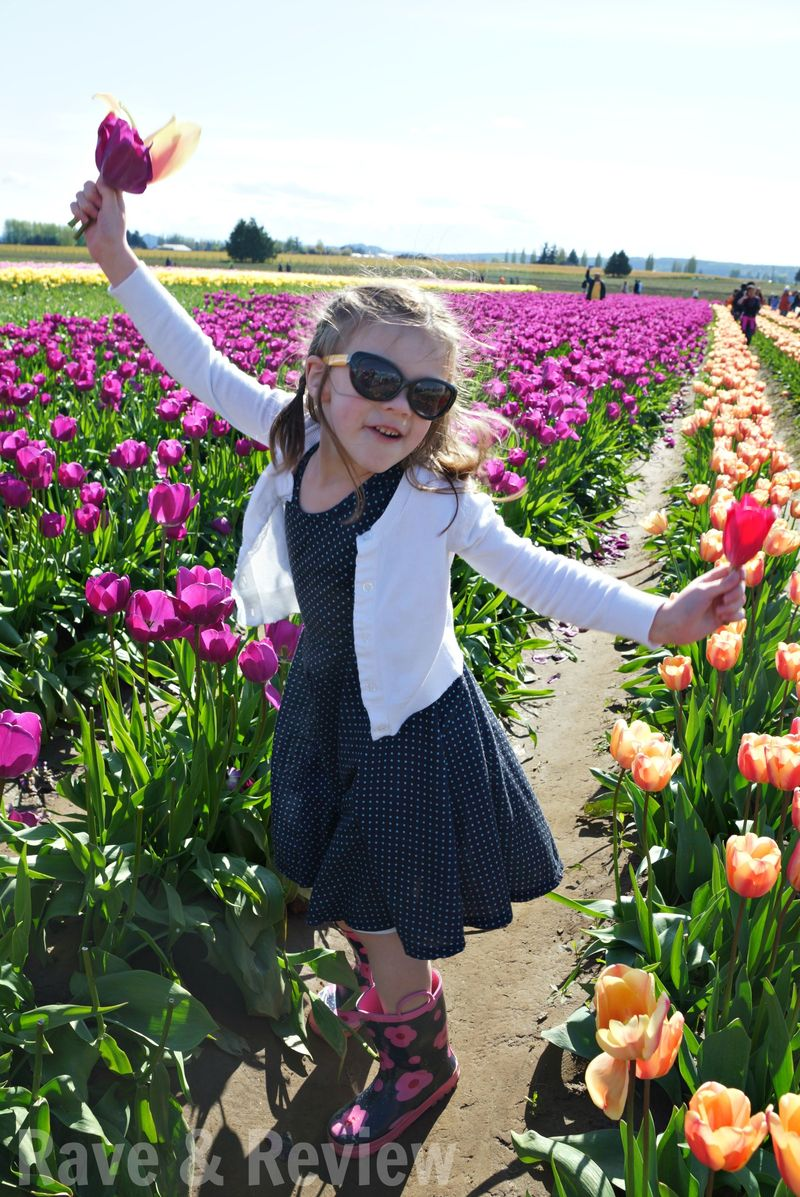 Dancing in the tulip fields