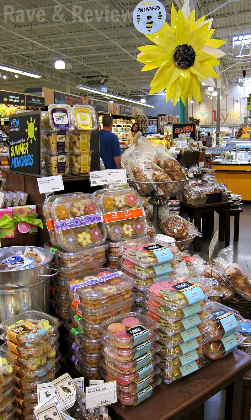 Bakery items at Whole Foods