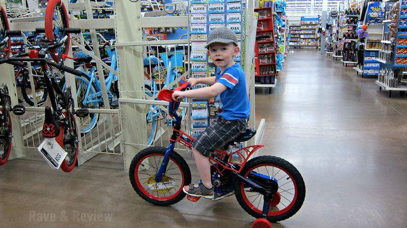 Bikes at Walmart