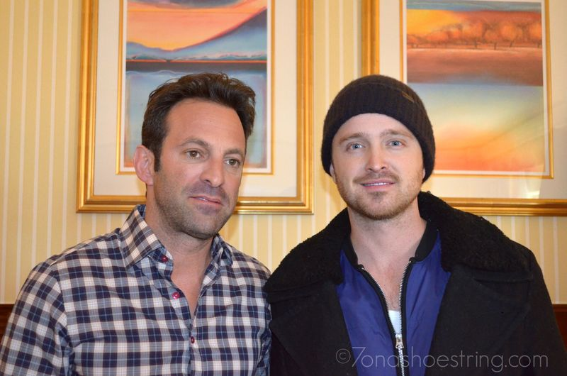 Scott Waugh and Aaron Paul