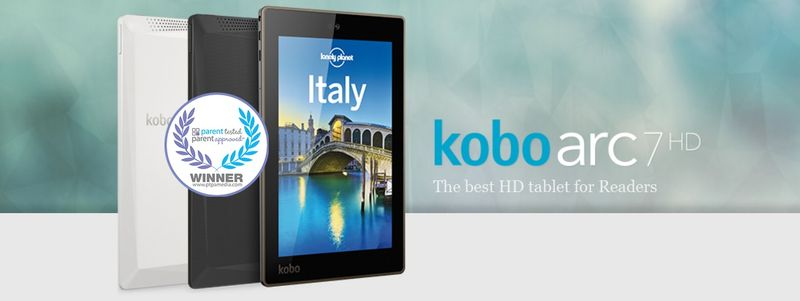 Kobo Arc 7HD PTPA