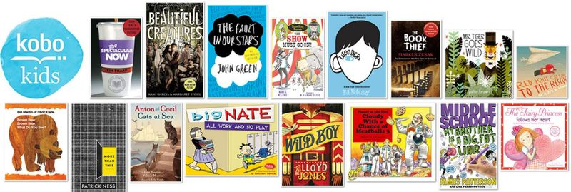 Kobo Kids selections