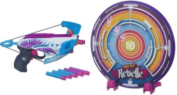 Nerf Rebelle target