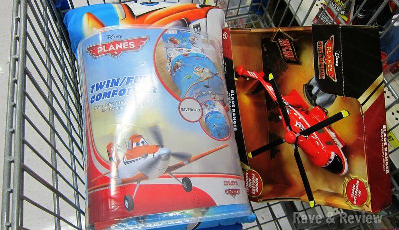 Planes Merchandise at Walmart