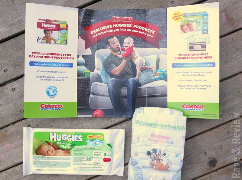 Huggies sample pack from Costco