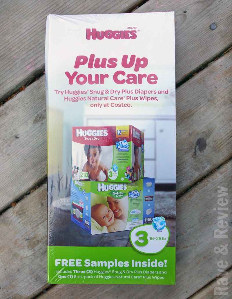 Sample from Huggies at Costco