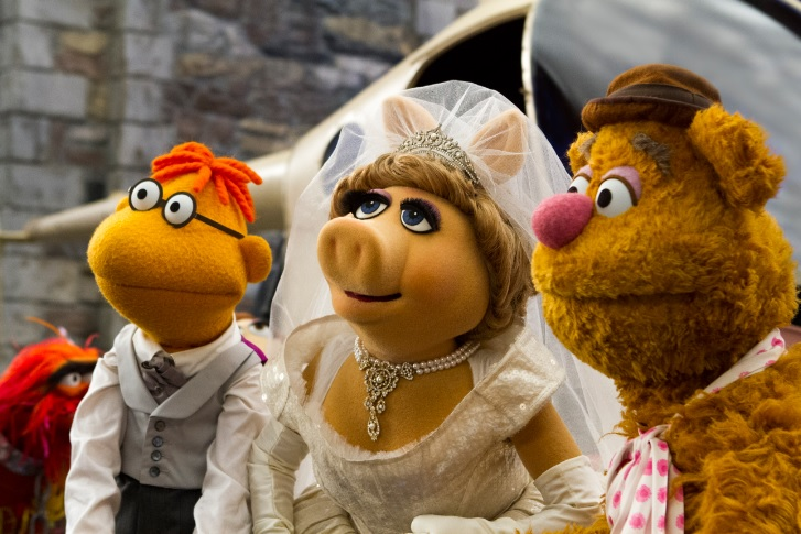 Muppets Most Wanted wedding