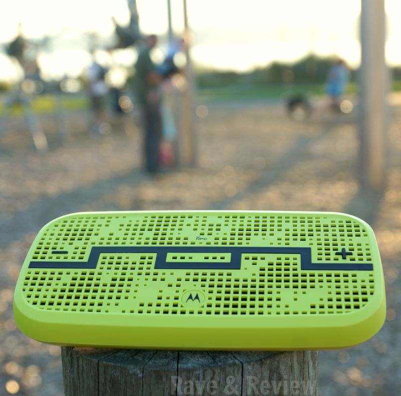 SOL REPUBLIC DECK speaker at park