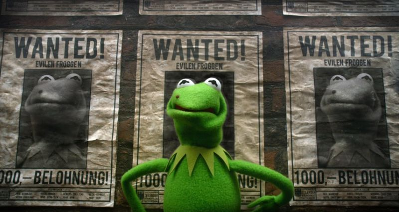 Muppets Most Wanted evil frog