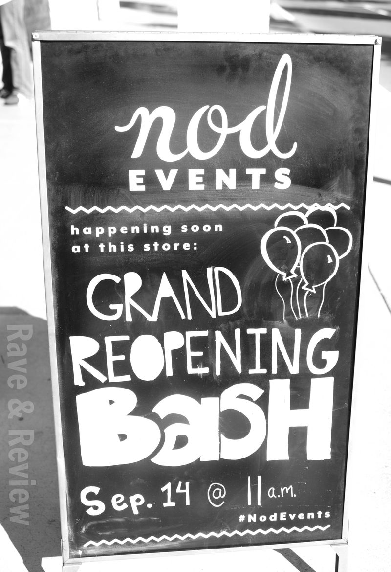 Land of Nod grand reopening bash