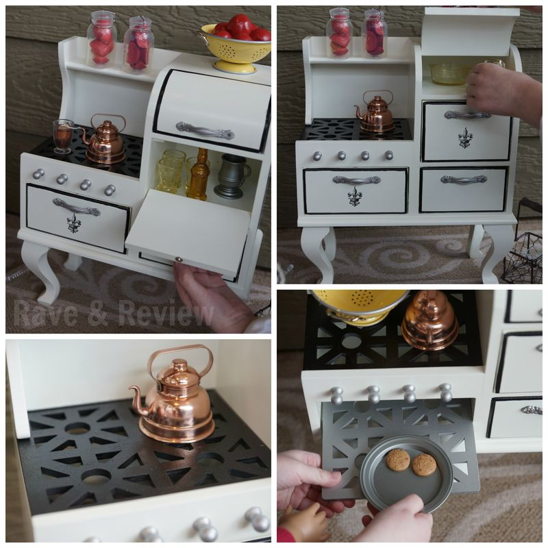 Doll stove parts