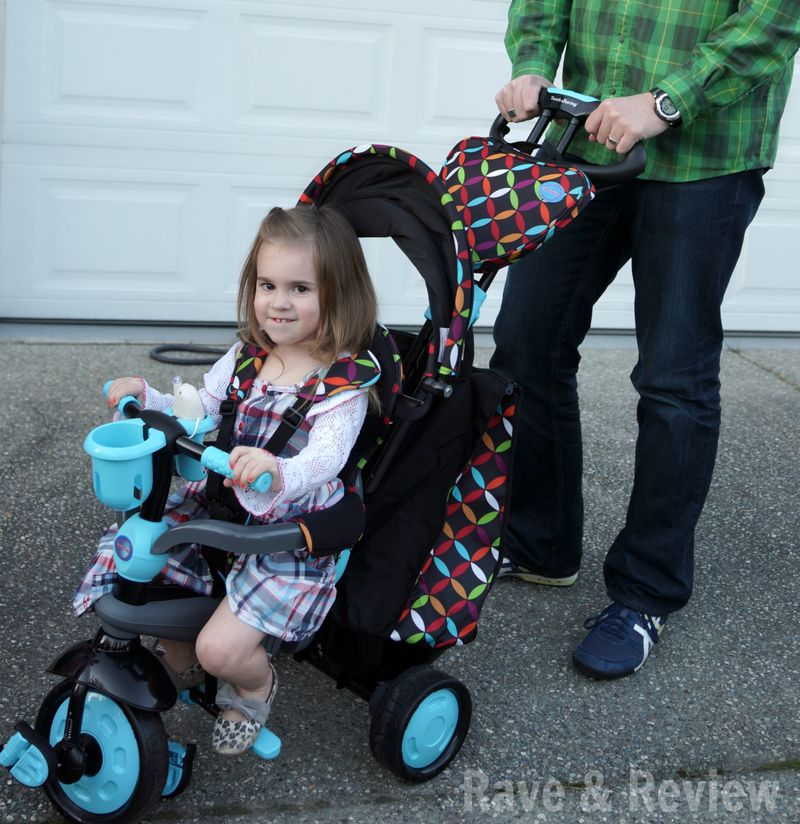 SmarTrike in stroller mode