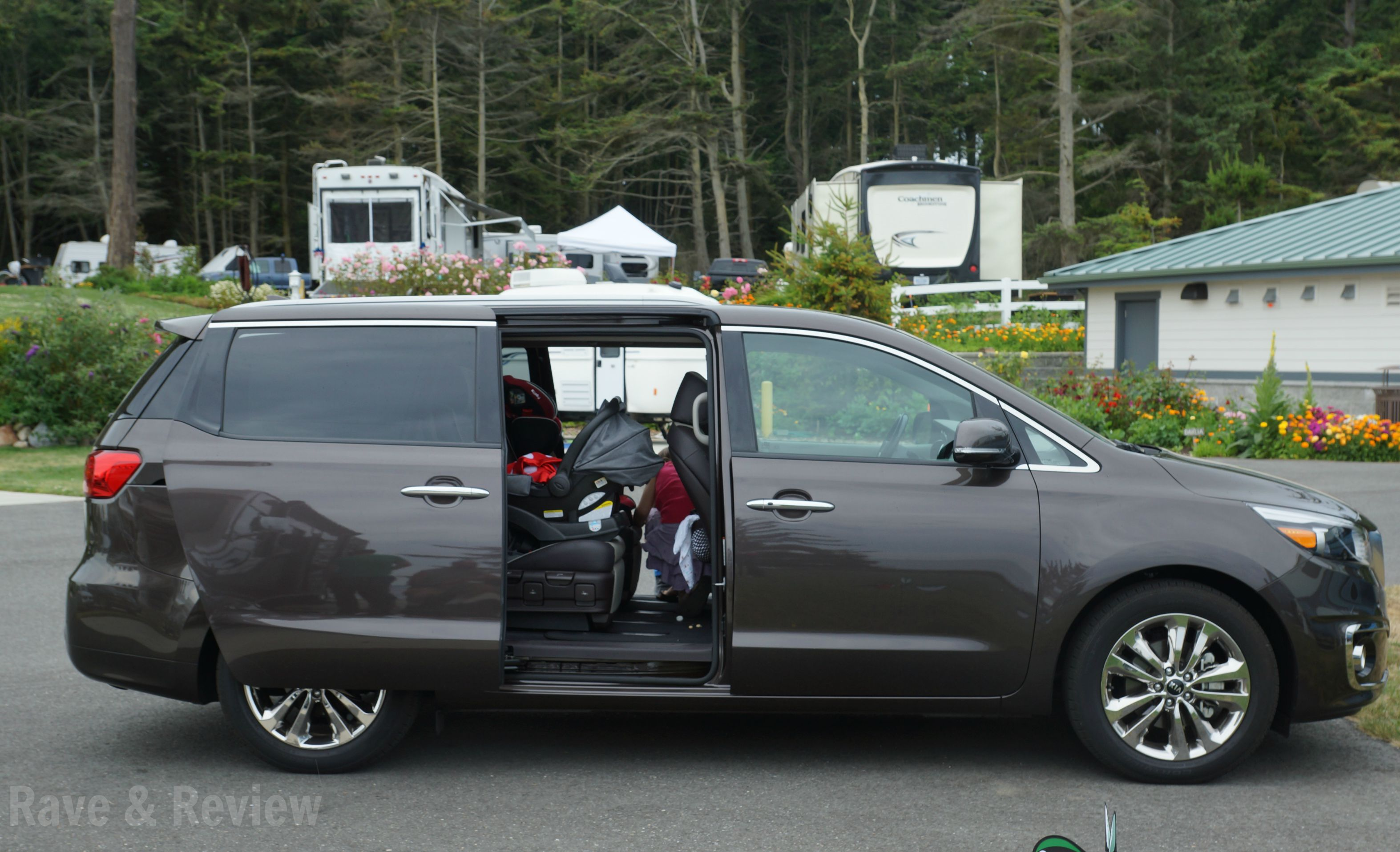Rave and review lifestyle travel and shopping blog from seattle kia sedona sliding doors open vtopaller Gallery