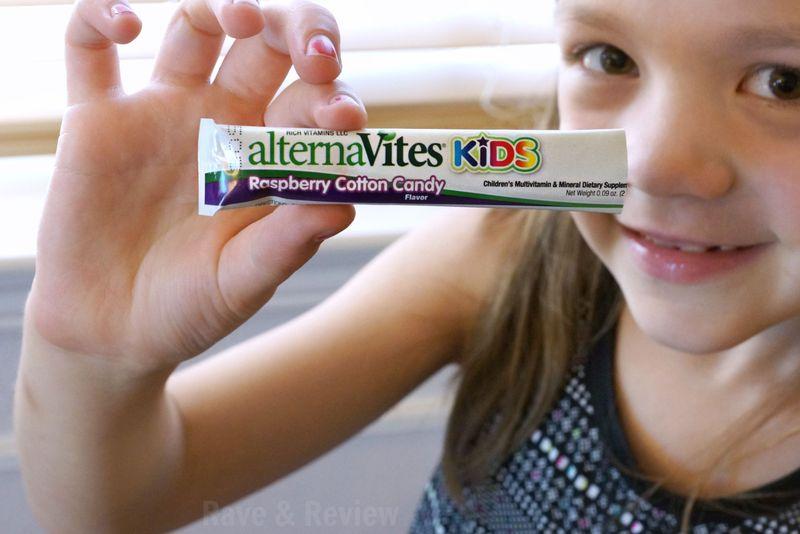 Alternavites kids cotton candy