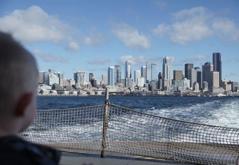 Seattle by ferry