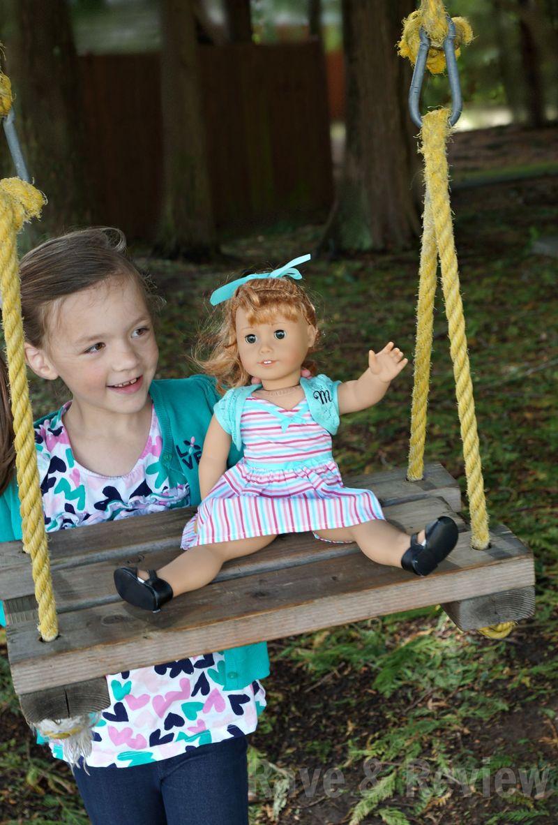 Maryellen on swing