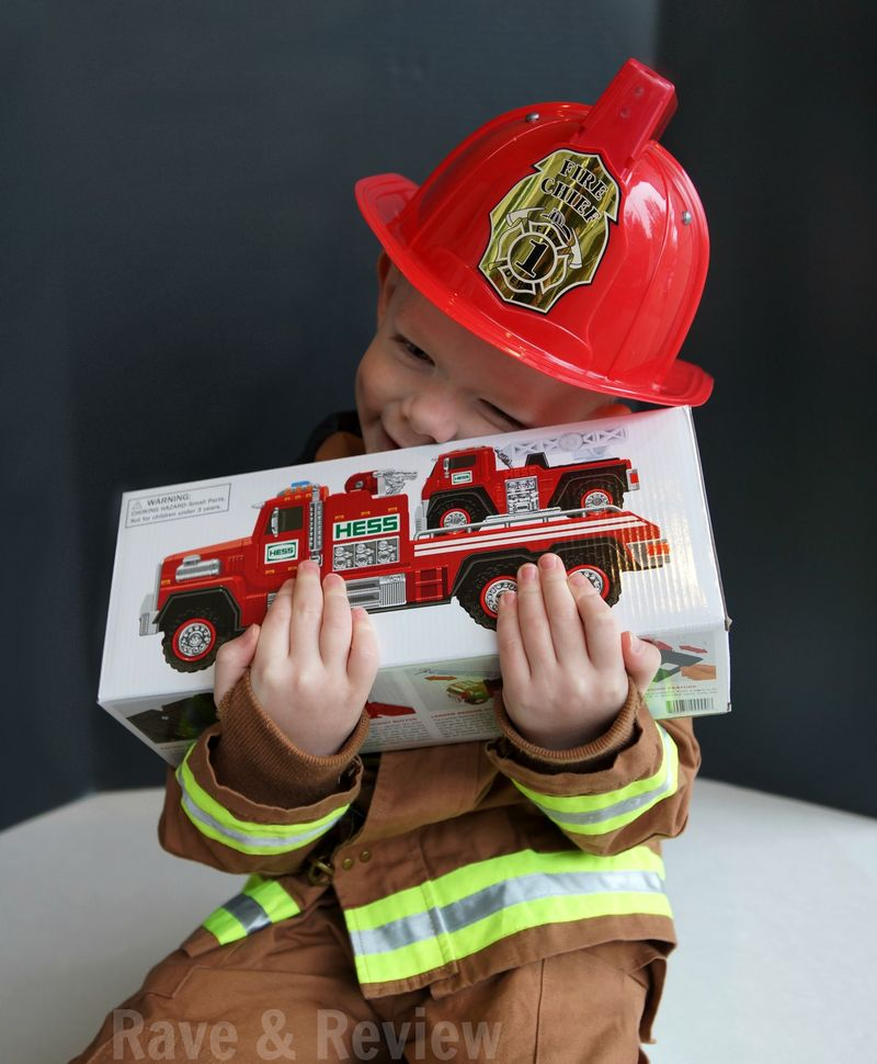 Hess Fire Truck hug