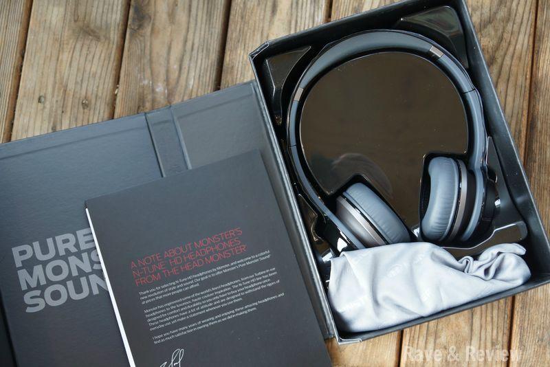 Monster headphones in box