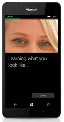 Microsoft Lumia 950 Windows Hello