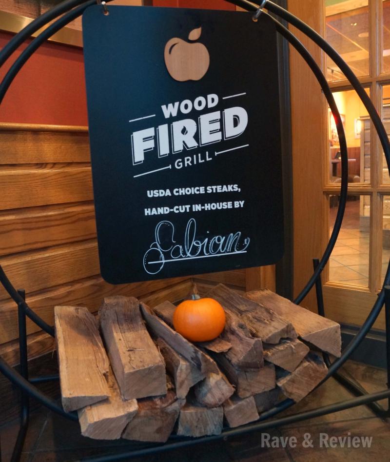 Applebees wood fired