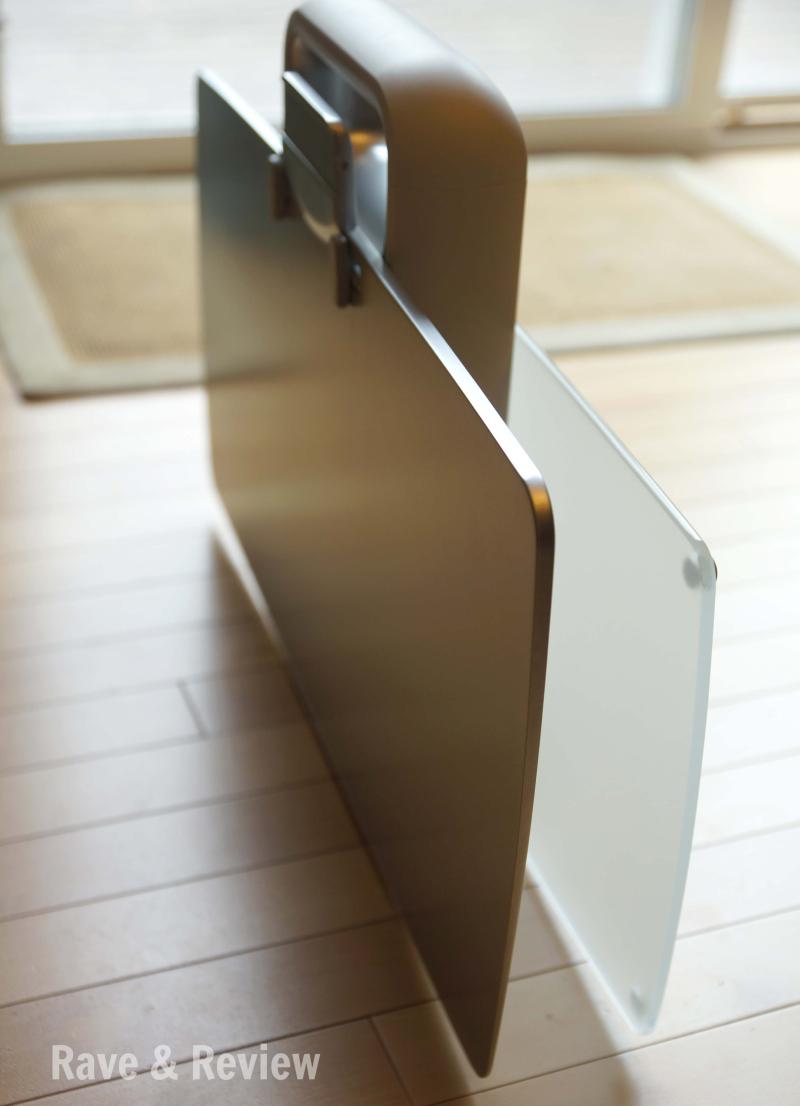 Ergotron desk folded side