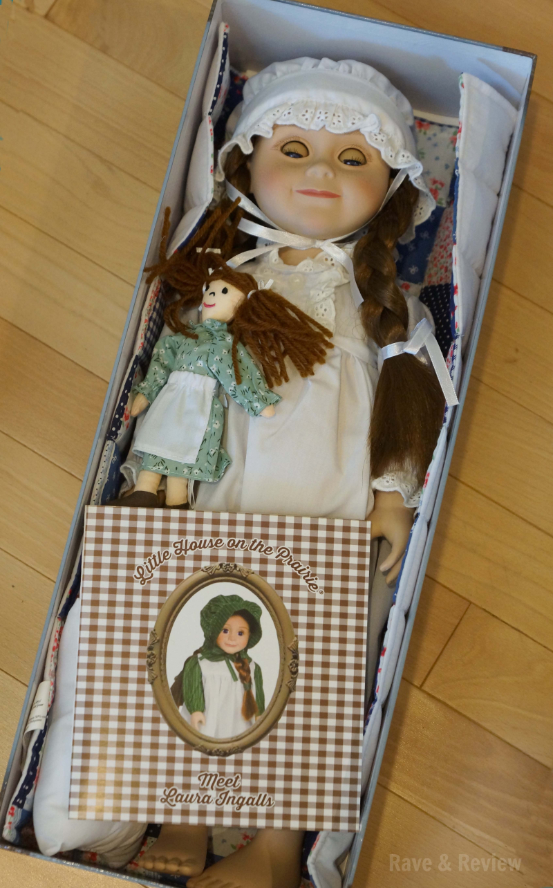 Laura Ingalls doll in box