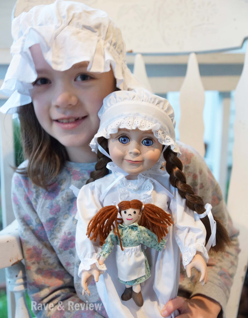 Laura ingalls doll with girl