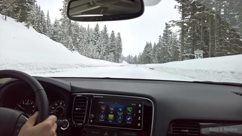 Mitsubishi Outlander 2017 drive