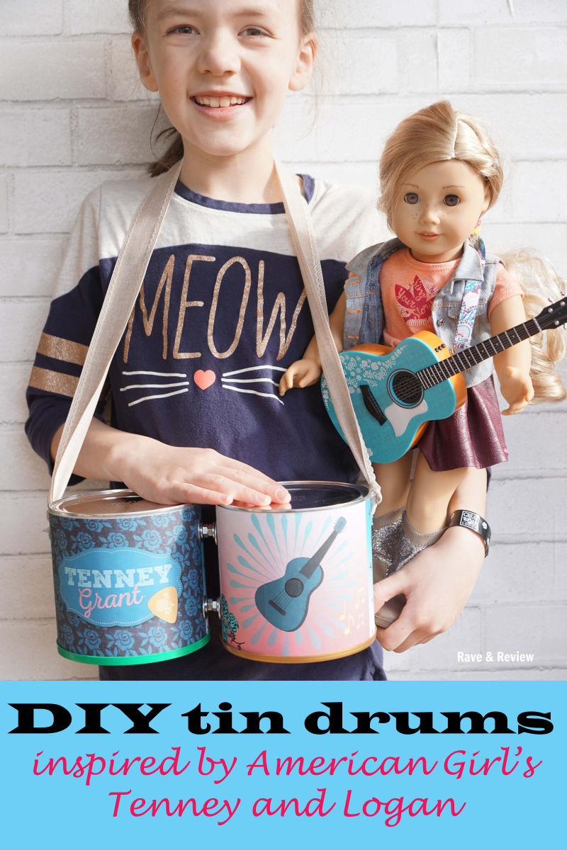 DIY Tin Drums inspired by American Girl