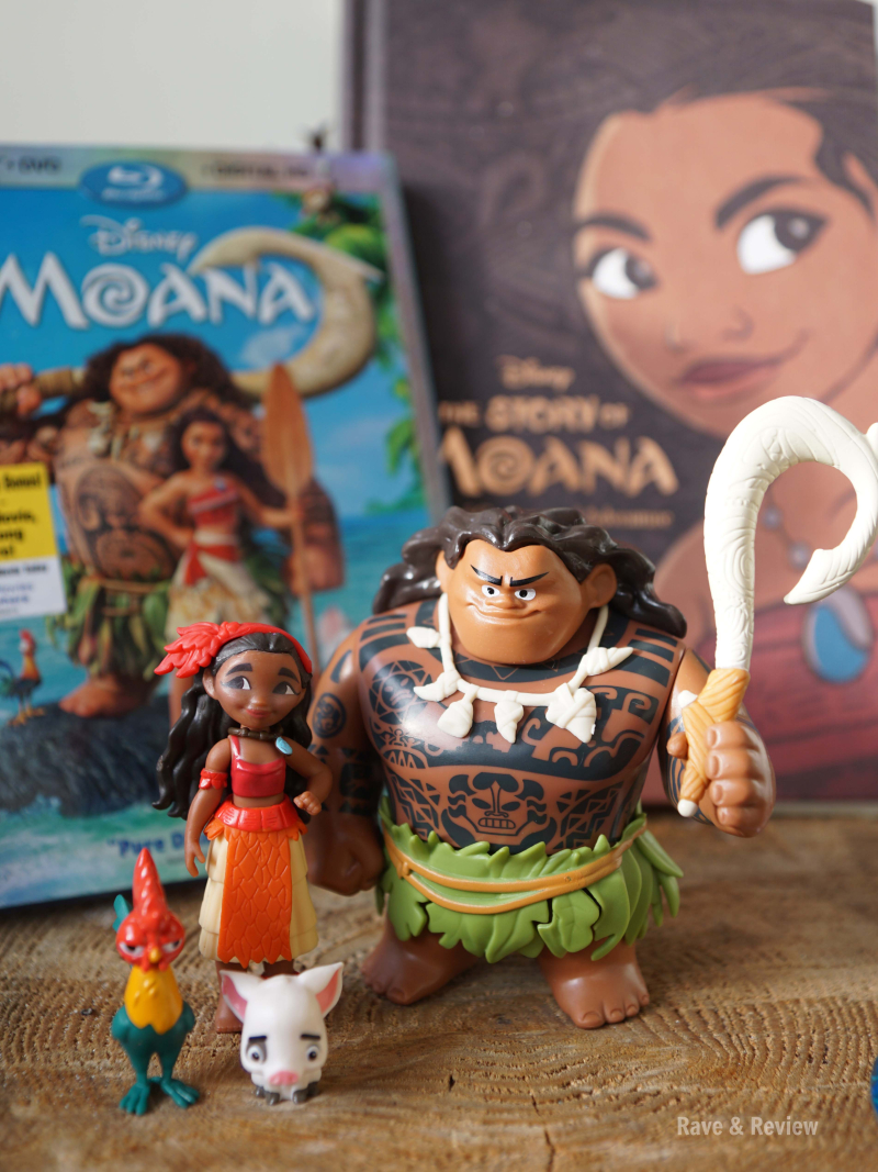 Moana movie and book