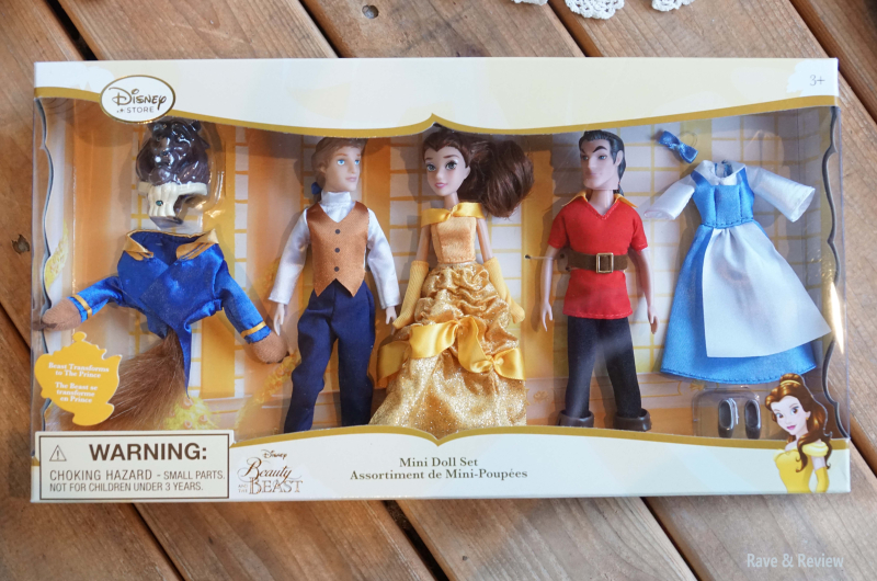 Beauty and the Beast dolls