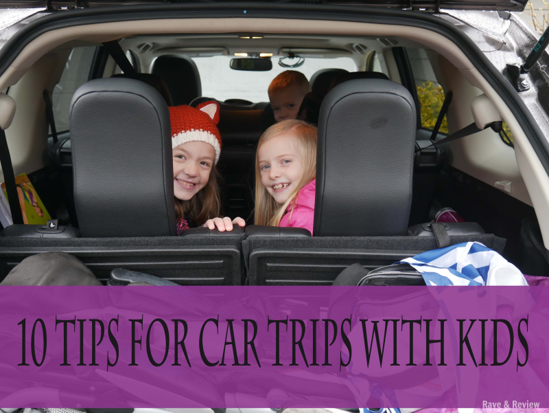10 tips for car trips with kids