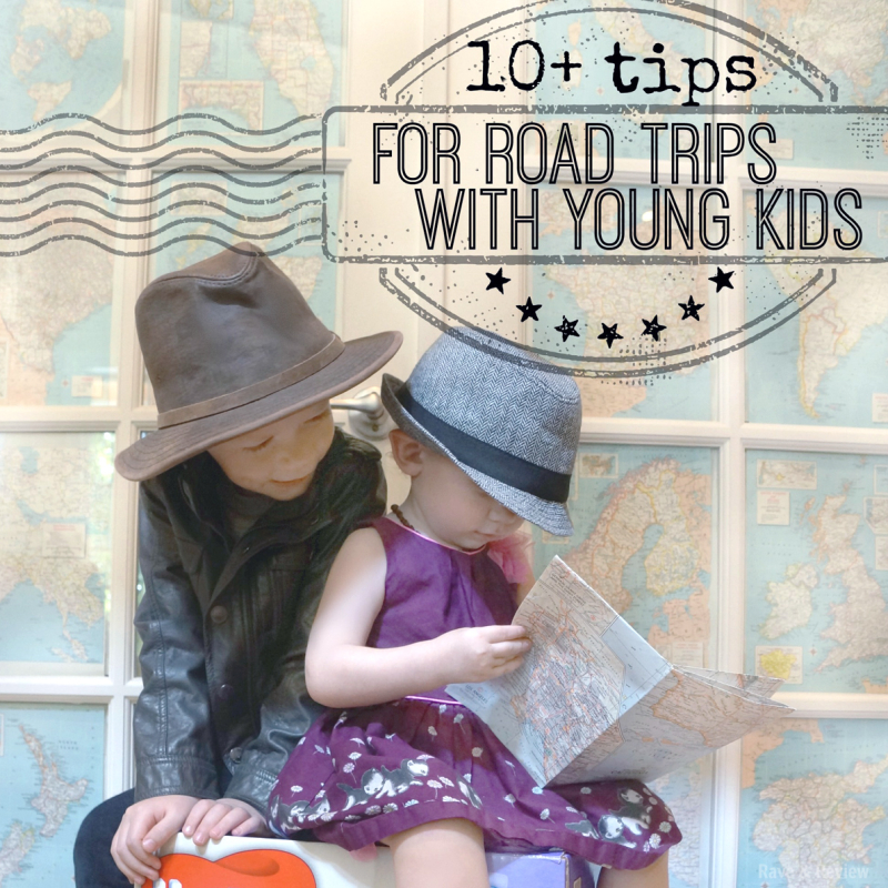 10 tips for road trips with young kids